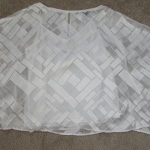 White House/Black Market silk top